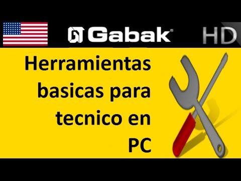 Herramientas basicas para tecnico de PC