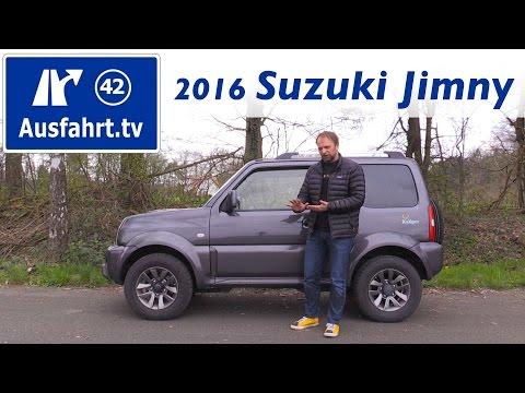 2016 Suzuki Jimny Ranger - Fahrbericht der Probefahrt, Test, Review Ausfahrt.tv