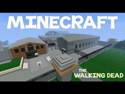 The walking dead prison minecraft project the walking dead prison malvernweather Images