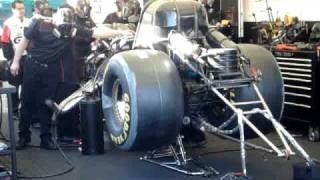 John Force - Funny Car start up