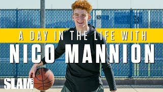 NICO MANNION: Arizona's Player Of The Year❗️(Part 1)   SLAM Day In The Life