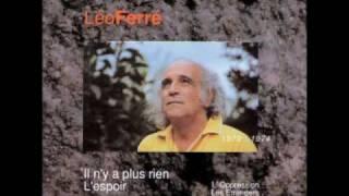 Léo Ferre-Je t