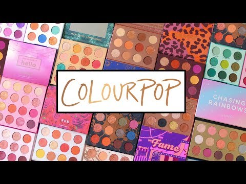Chasing Rainbows Eyeshadow Palette by Colourpop #10