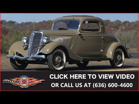 Video of '34 3-Window Coupe - MCEX