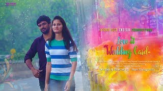 Love At Wedding Card || Telugu Short Film 2018 || By Ram Gonuguntla || English Subtitles