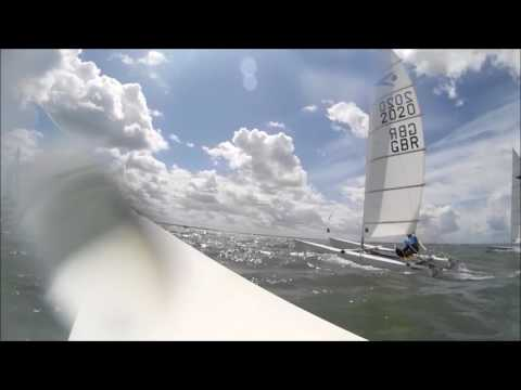 Thorpe Bay Nationals Race 1, July 2017