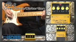 Boss SD-1 Super Overdrive Video
