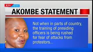 Commissioner Roselyne Akombe's statement