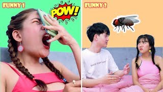 BEST FUNNY PRANKS ON FRIENDS | Easy and Simple Pranks for Girls With Boy Friend