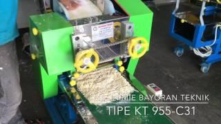 Mesin Mie KT 955 C31. Bayoran Teknik Mesin Mie