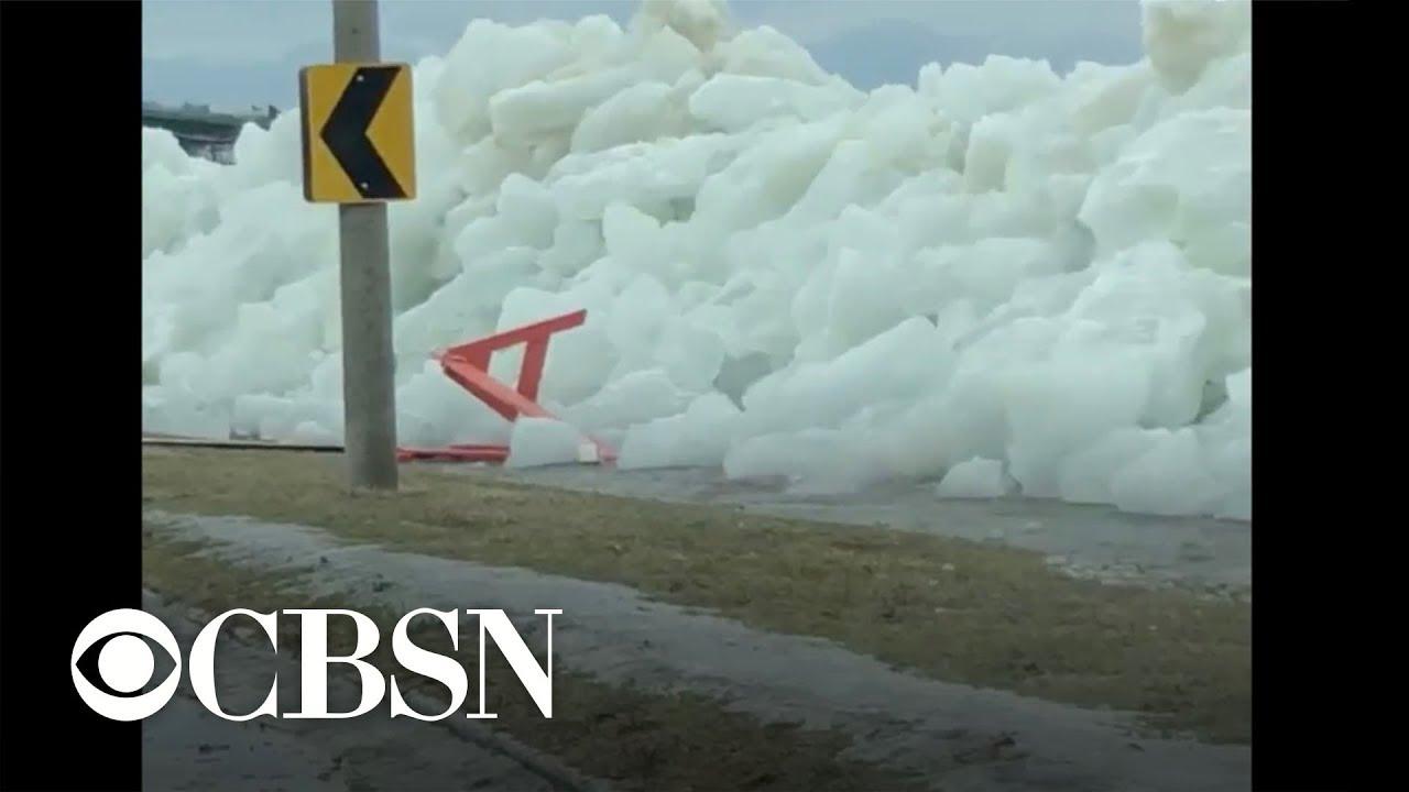 Ледяное цунами в Канаде