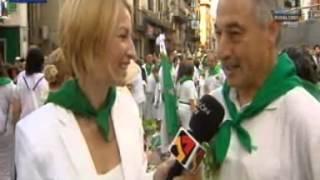 preview picture of video 'Procesión en honor a San Lorenzo, Huesca 2014'