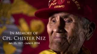 Chester Nez: The Last of the Original Navajo Codetalkers, by AmericanLegionHQ