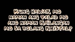 Abra ft. KZ Tandingan - Bolang Kristal LYRICS