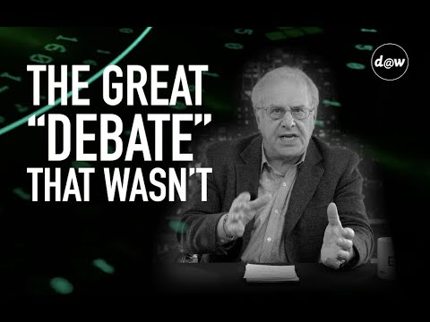 Economic Update: The Great Debate That Wasn't [Trailer]
