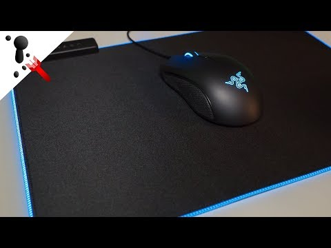Razer Goliathus Chroma RGB Soft Mouse Pad Quick Review