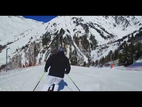 Sur les pistes de ski de Vaujany