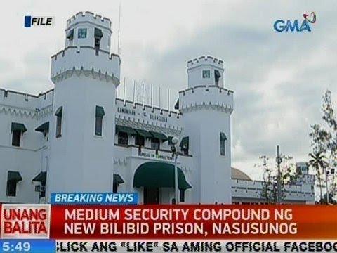 [GMA]  UB: Medium security compound ng New Bilibid Prison, nasusunog