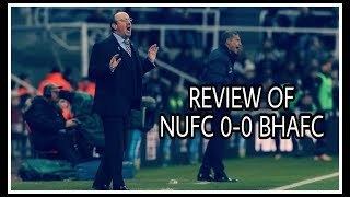 Review   Newcastle United 0-0 Brighton