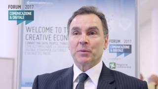 Youtube: Intervista a Giampiero Nanni | Symantec Corporation | Forum della Comunicazione 2017