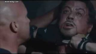 The Expendables - Action Scene