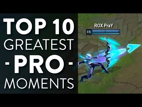 Top 10 Greatest Pro Moments in League of Legends History | Episode 1