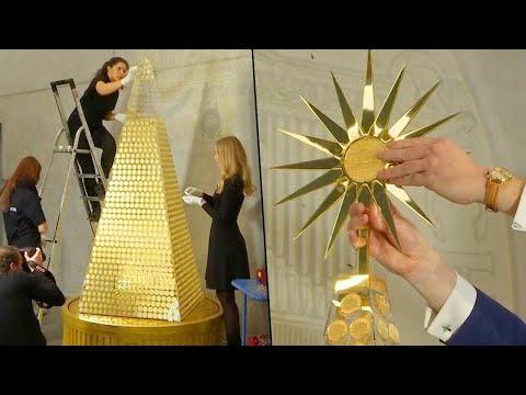 العرب اليوم - شاهد : أغلى شجرة كريسماس في العالم
