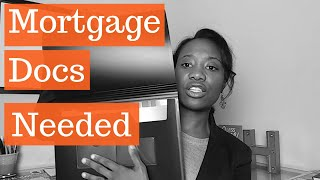 Mortgage Documents Needed (Step by Step EASY)
