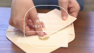 Mailing Wedding Invitations