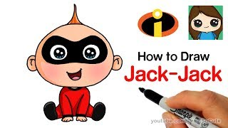 How to Draw Jack-Jack Easy | The Incredibles
