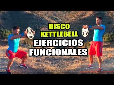 Ejercicios Funcionales para hacer con Disco o Kettlebell || Functional Exercises