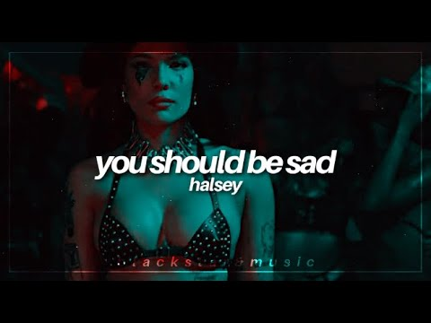 you should be sad || halsey || traducida al español + lyrics