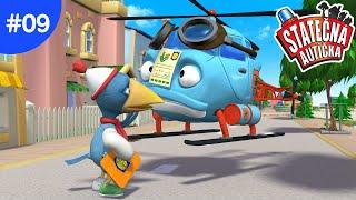 Statečná autíčka – Policejní fraška
