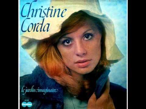 CHRISTINE CORDA - Le Jardin Imaginaire RARE FRENCH ACID FOLK PSYCH CARABINE 70's