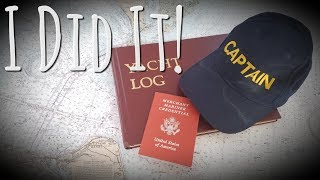 Onboard Lifestyle ep.29 Getting My Captain's License