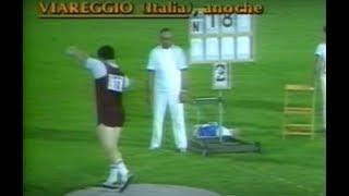 Alessandro Andrei Shot Put World Record 22.91m
