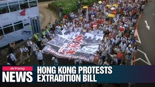 More Than A Million People In Hong Kong Protest Extradition Bill