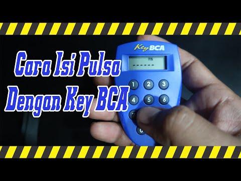 Contoh Cara beli Pulsa Menggunakan key BCA (klik bca/Internet Banking)