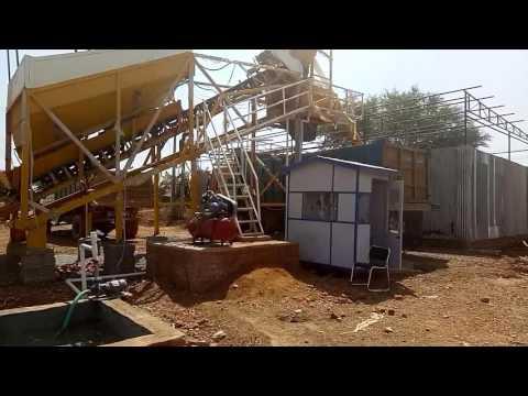 Twin Shaft Sicoma Concrete Batching Plant
