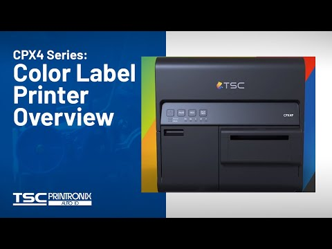 TSC CPX4 Colour Label Printer - Coming Soon video thumbnail