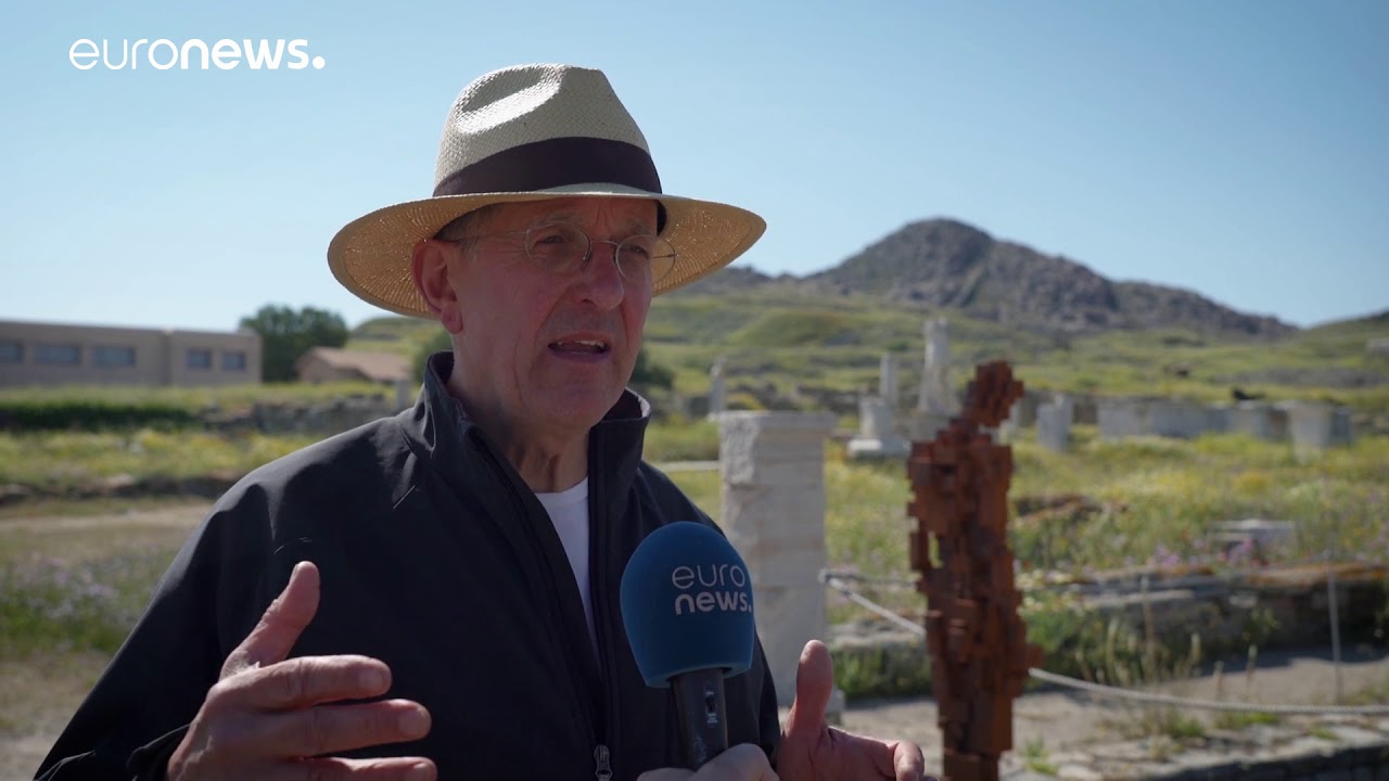 Ο Antony Gormley στο euronews