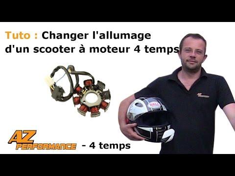 Changer l'allumage de son scooter de type Gy6 / 139QMB / …