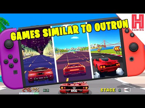 Racing Games Similar To Outrun On Nintendo Switch