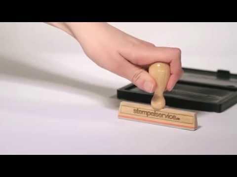 Holzstempel 100x10mm