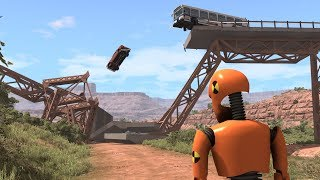 The Evil Crash Test Dummy | BeamNG.drive