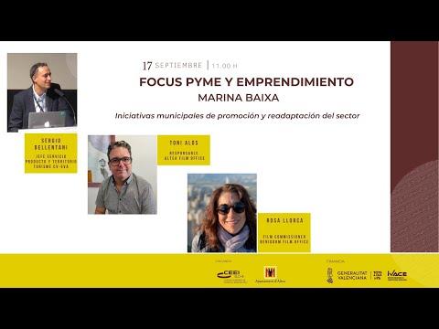 Iniciativas municipales de promoción y readaptación del sector - Focus Pyme Marina Baixa