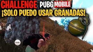 ¡¡CHALLENGE: SOLO PUEDO USAR GRANADAS en ESTA PARTIDA de PUBG MOBILE!! - MattsinLife