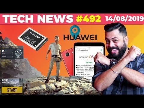 Woah! Crazy PUBG Update 0.14, Realme OS Update, Graphene Battery Phone, Huawei Maps Coming-TTN#492