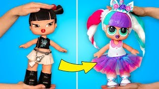 Bratz Becomes LOL: DIY Doll Transformation