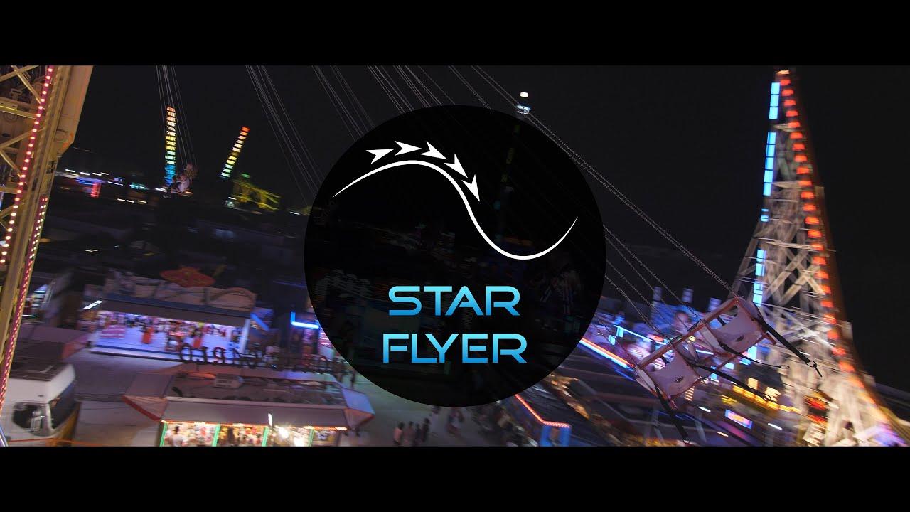 Envolez-vous à bord du Star Flyer pour profiter d'un agréable vent frais, mais surtout, de la vue en hauteur sur le monde coloré et lumineux du Magic World. Merci à Brett, le pilote, d'avoir assuré le contrôle pour que je concocte des images satisfaisantes!
